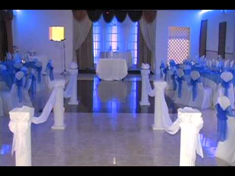 Beautiful Indoor Wedding Ceremony And Reception By Fusion