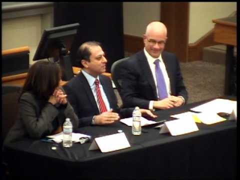 Discussion: Cyber Threats to Corporate America with Kamala D. Harris and Preet Bharara
