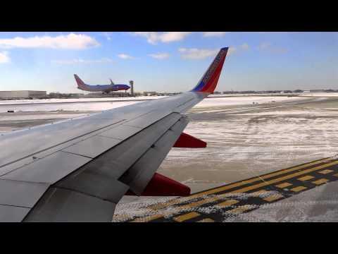 Southwest Airlines B737-7H4 KMDW 31C Departure
