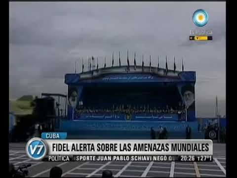 Visión Siete: Cuba: Fidel advierte sobre las amenazas mundiales