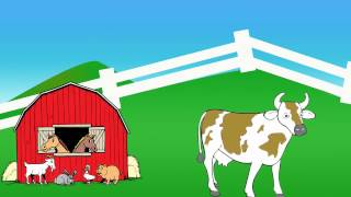 Old MacDonald Had A Farm Kids Songs and Nursery Rhymes