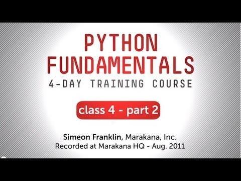 Python Fundamentals Training - Tools