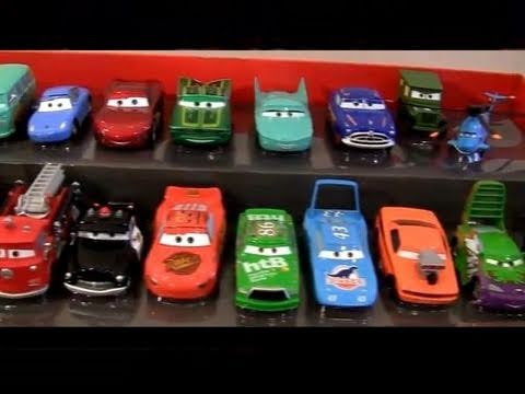 20 CARS Complete Deluxe Set SALLY Tractor Tipping Disney Store toys The King Pixar Radiator Springs