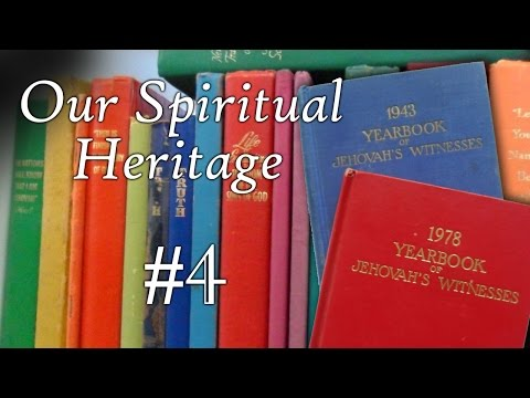 Our Spiritual Heritage #4 - 1943 and 1978 Yearbooks comparison