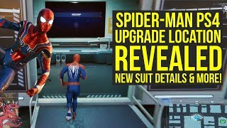 Spider Man PS4 News WHERE TO GET UPGRADES, New Suit Details & More (Spiderman PS4 - Spider-Man PS4)