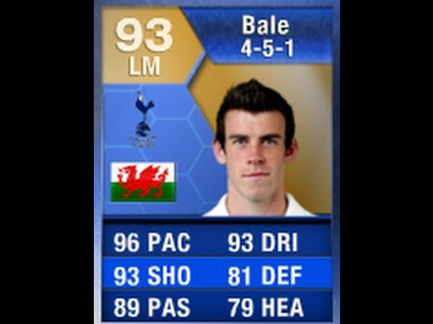FIFA 13 TOTS BALE 93 Review &amp; In Game Stats Ultimate Team