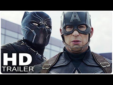 CAPTAIN AMERICA 3 CIVIL WAR Trailer German Deutsch | The First Avenger | Marvel Film 2016