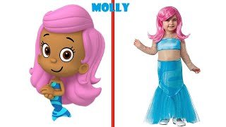 Bubble Guppies In Real Life Characters SMS TV