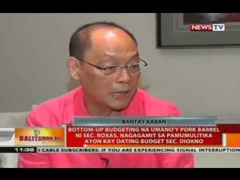 Bottom-up budgeting ni Sec. Roxas, nagagamit sa pamumulitika ayon kay dating budget Sec. Diokno