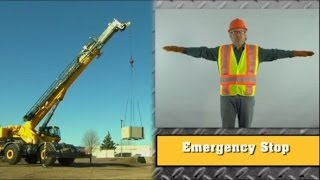 Crane Signal Person Basic Training