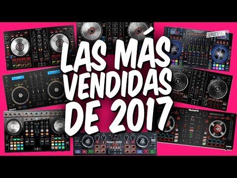 TOP 10 CONTROLADORAS + VENDIDAS 2017 🔝 (datos comparativos)