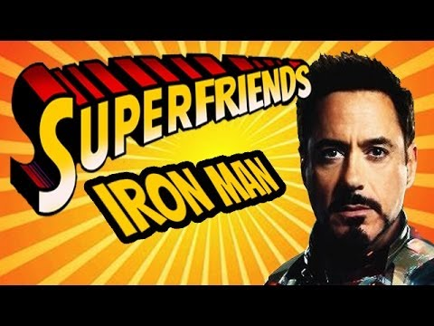 Iron Man/X-O Manowar Heavy Metal - The Amazing Superfriends!