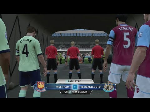 FIFA 13 Career Mode Coach - Newcastle United S1 G49 vs West Ham