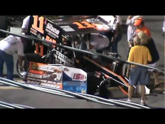 ISMA Supermodifieds Oswego Speedway Race of Champions