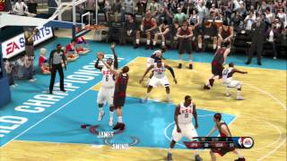 NBA Live 10 - FIBA Tournament USA vs Japan 6 min quarters Superstar Difficulty