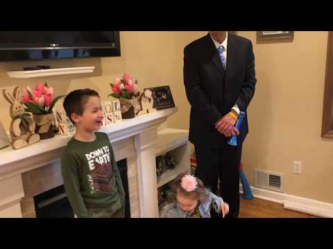 Distance Learning with Two Vice Principals and their Two Children