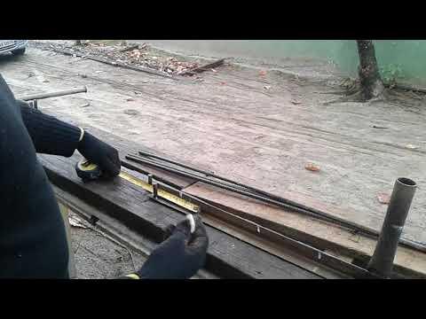Como fazer um CARANGUEJO d ferro para malha dupla d ferro