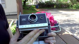 Ask Fran: The Polaroid 330 Land Camera - Loading, Shooting, and Developing.