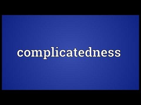 Header of complicatedness