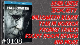 DCS #108   Halloween Blu-Ray, Horror Releases in 2019, Prodigy Trailer, Resident Evil 2 and more