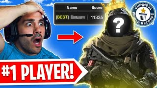 I Played with The #1 Warzone Player! 🤯 (INSANE)