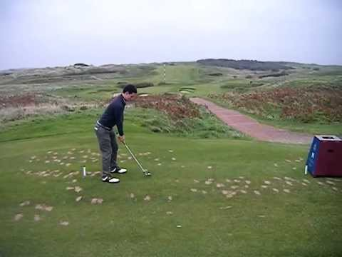Steven 11th Hole Royal Portrush Golf Club