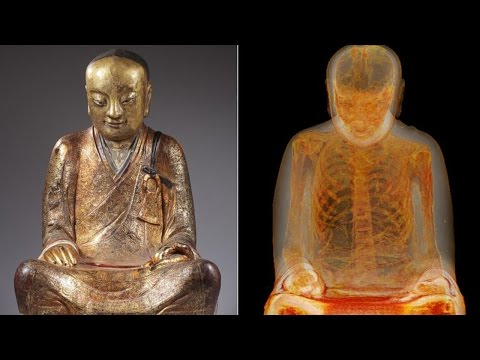 Mummy Found Hiding Inside Ancient Buddha Statue
