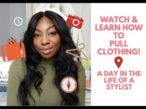 A Day In The Life Of A Fashion Stylist | Watch Me Pull Clothing For A Shoot!