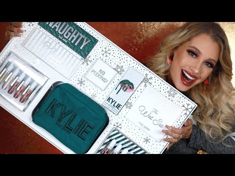 KYLIE COSMETICS 2017 HOLIDAY COLLECTION REVIEW + TUTORIAL