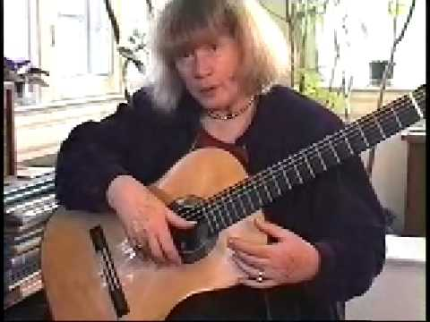 The Ida Presti right hand technique for guitar - Alice Artzt - 3/4