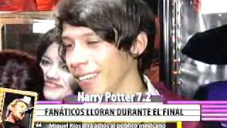 HARRY POTTER 7.2 - Estreno en Monterrey