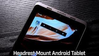 Audiovox T852SBK Android Tablet  - Heasdreast Car Entertainment System