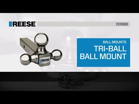 REESE® Tri-Ball Ball Mount - 7039800
