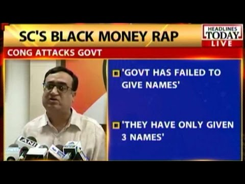 Arun Jaitley: Will place list of black money account holders before SC