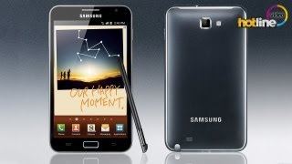 Обзор Samsung Galaxy Note (GT-N7000)