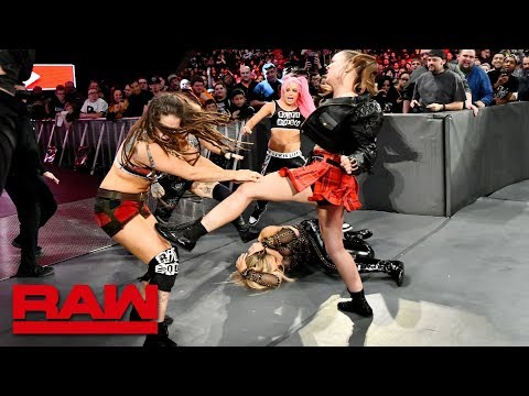 Ronda Rousey and Natalya fight off a Riott Squad ambush: Raw, Nov. 26, 2018 thumbnail
