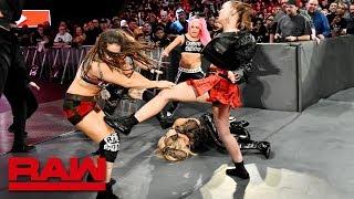 Ronda Rousey and Natalya fight off a Riott Squad ambush: Raw, Nov. 26, 2018