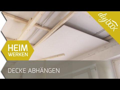 Decke Abhängen - 2D
