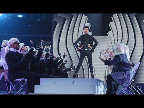 Rylan Clark sings Groove Is In The Heart/Gangnam Style medley