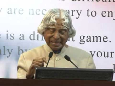 Dr  Apj Abdul Kalam Speech  Sambhram Institutions video