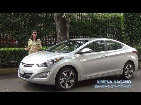 Hyundai Elantra 2015 Prueba De Manejo En MotorBlogMX