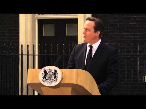 David Cameron's Statement on Lady Thatcher