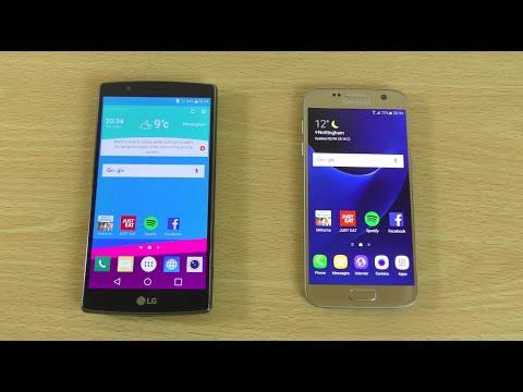 LG G4 vs Samsung Galaxy S7 - Speed Test!