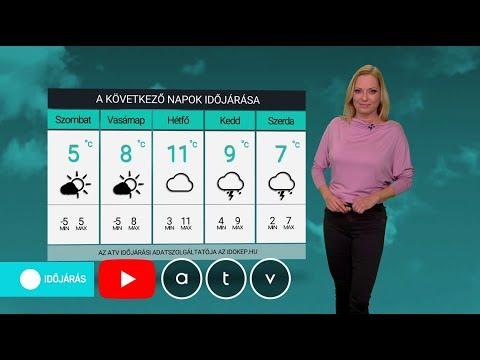 ATV időjárás-jelentés 2020.02.07.