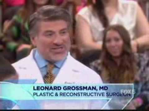 NY Plastic Surgeon Dr. Grossman on Dr. Oz show discussing I-Lipo