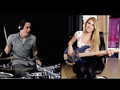 MAGIC! - Rude - Cover (Ft. Anna Sentina) Drum Cover & Bass Cover