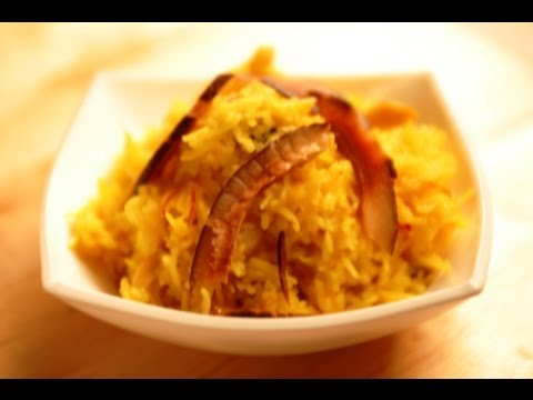 ZARDA PULAO (Rice Preparation)