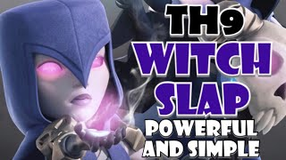 WITCH SLAP - Best TH9 War Attack Strategy for 3 Stars in Clash of Clans