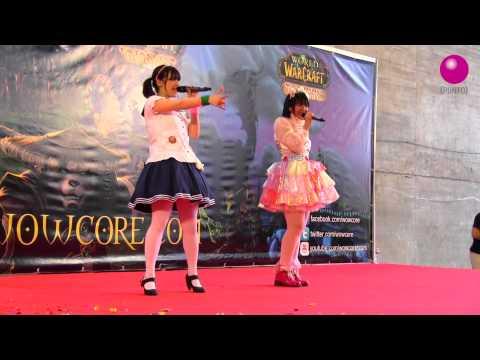 HARUKO MOMOI + RUKI-CHAN - ROMANTIC SUMMER 桃井はるこ @EXPOMANGA 18/05/2014