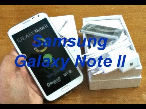 Samsung Galaxy Note 2 N7100 (India) - Unboxing - First Look